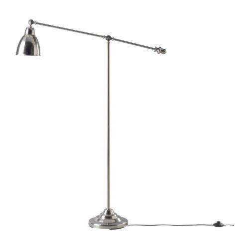 ikea floor lamps lighting. BAROMETER Floorreading Lamp Nickel Plated Ikea Floor Lamps Lighting H