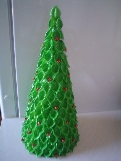 Choinka Z Makaronu Christmas Crafts Diy Christmas Tree Crafts Christmas Crafts