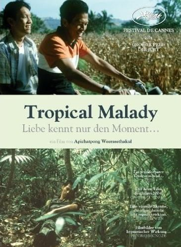 "Sud pralad"" or ""Tropical Malady"" (2004) by Director : Apichatpong  Weerasethakul 