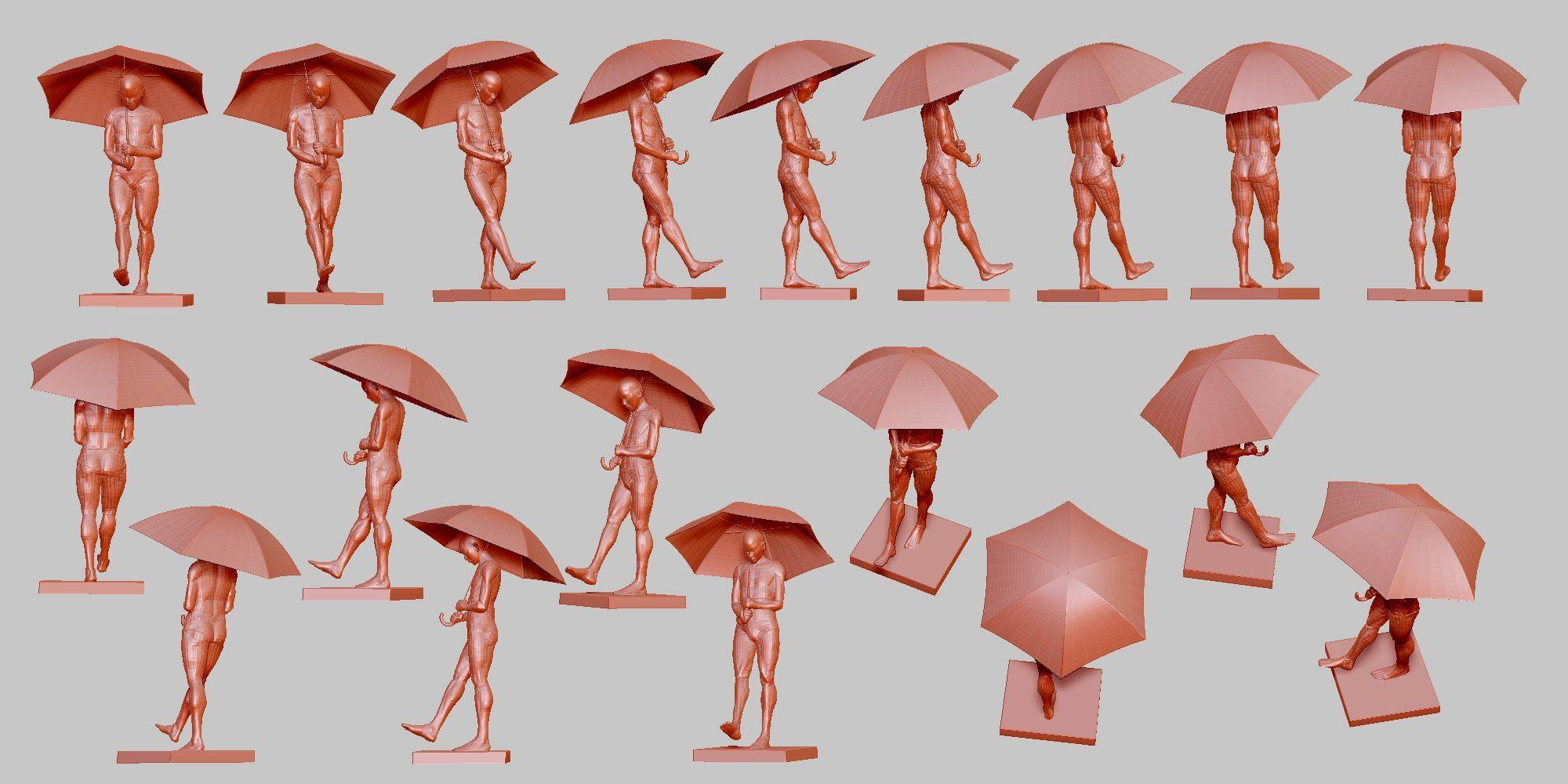 傘をさす 01 ポーズ 294 Refrence 傘イラスト 傘をさす デッサン