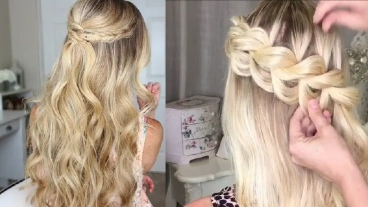 HERMOSOS PEINADOS DE MODA TUTORIAL 2017 Hair Styles Pinterest