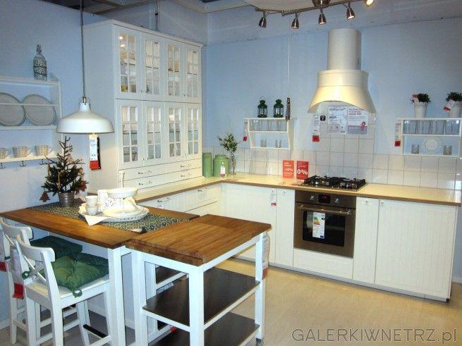 Kolejna piękna aranżacja kuchni w stylu prowansalskim   -> Ikea Kuchnie Uchwyty