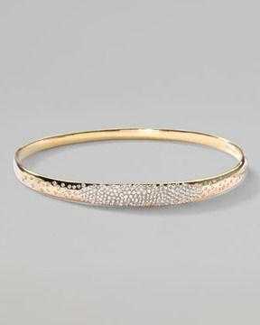 dc30df98a42 Ippolita Stardust Wide Pave Diamond Gold Bangle on shopstyle.com ...