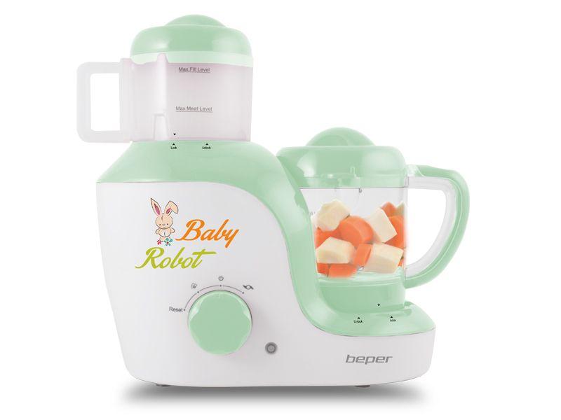 Robot baby chef Beper - GVShop http://www.gvshop.it/cucina-e-preparazione-robot-da-cucina/87288-robot-baby-chef-beper-8051772713393.html