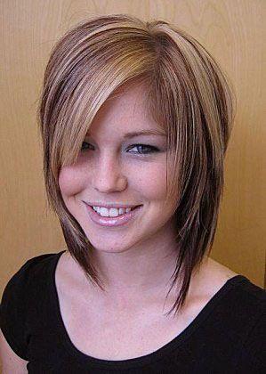Coupe de cheveux degrader cheveux mi long