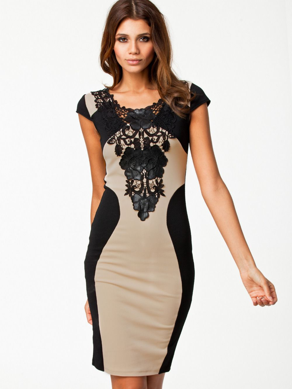 Bandage-Dress-2014-New-Arrival-Women-Elegant-Embroidery-Bodycon ...