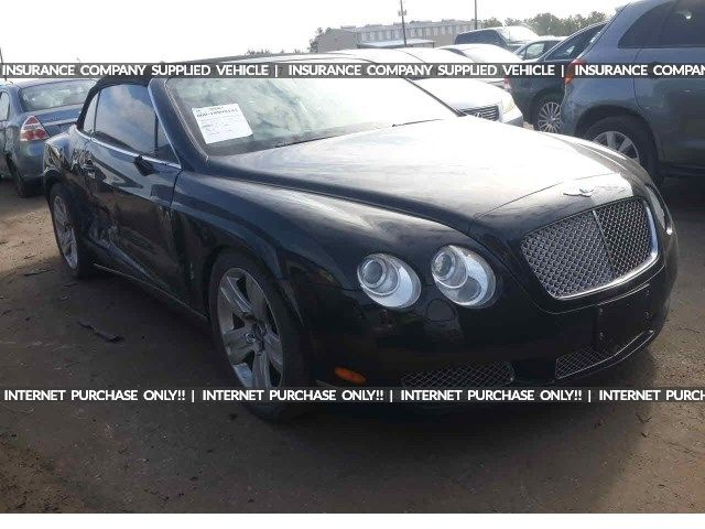 Salvage 2008 Bentley Continental Gtc Convertible For Sale Salvage