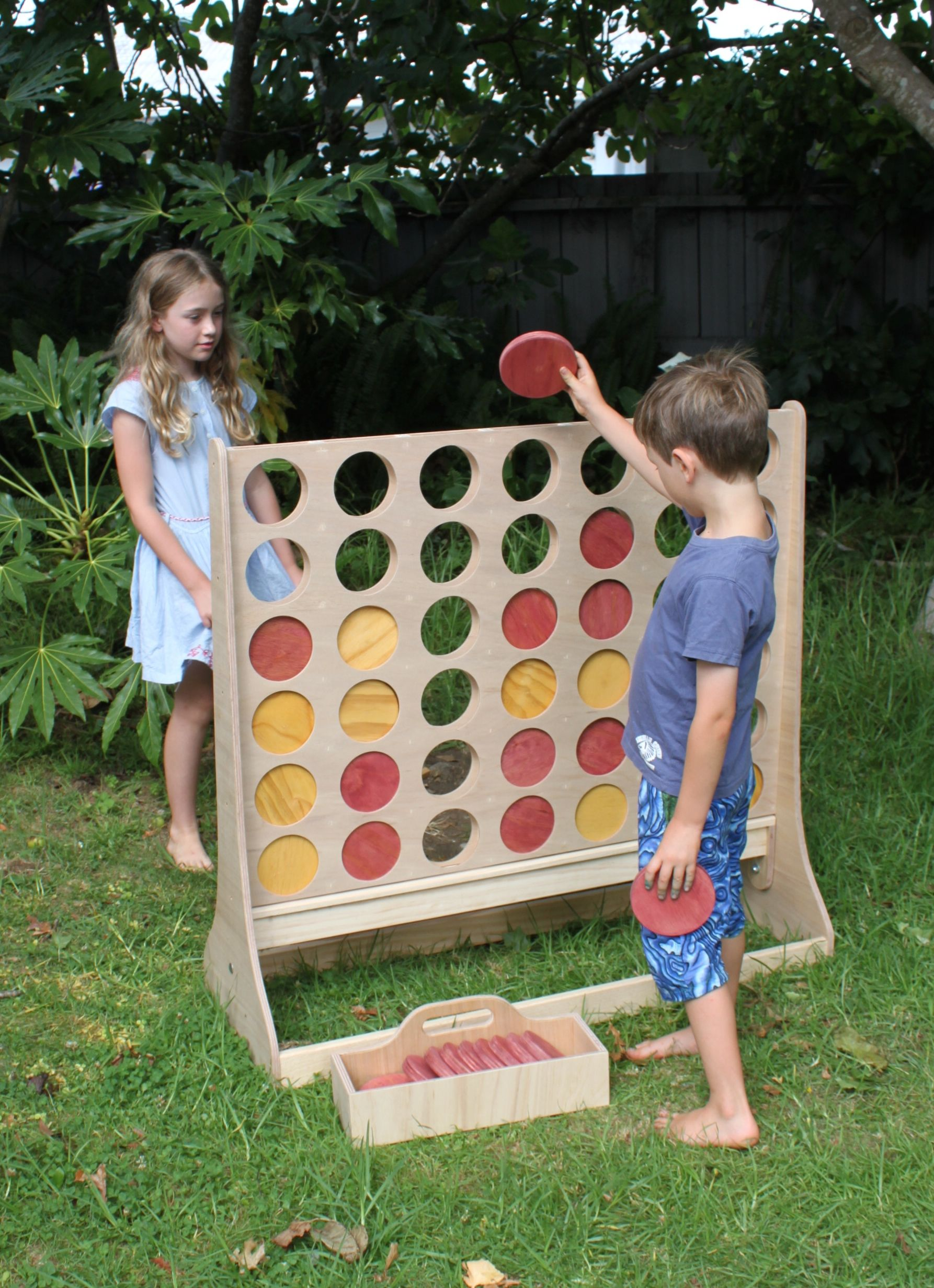 QUOITS CONNECT 4 IN A ROW NEW GARDEN LAWN BBQ PARTY GAMES GIANT JENGA TOWER