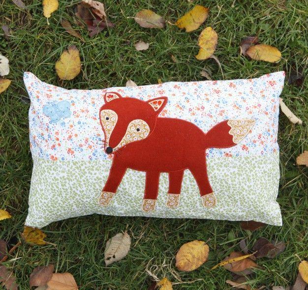 Baby Fox Cushion   Woodland Creatures   Sass & Belle