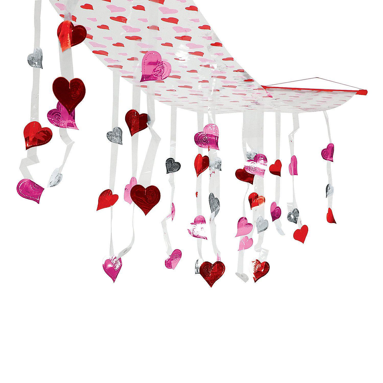 Valentine Hearts Ceiling Decoration Oriental Trading Valentines Classroom Decorations Ceiling Decor Classroom Valentine