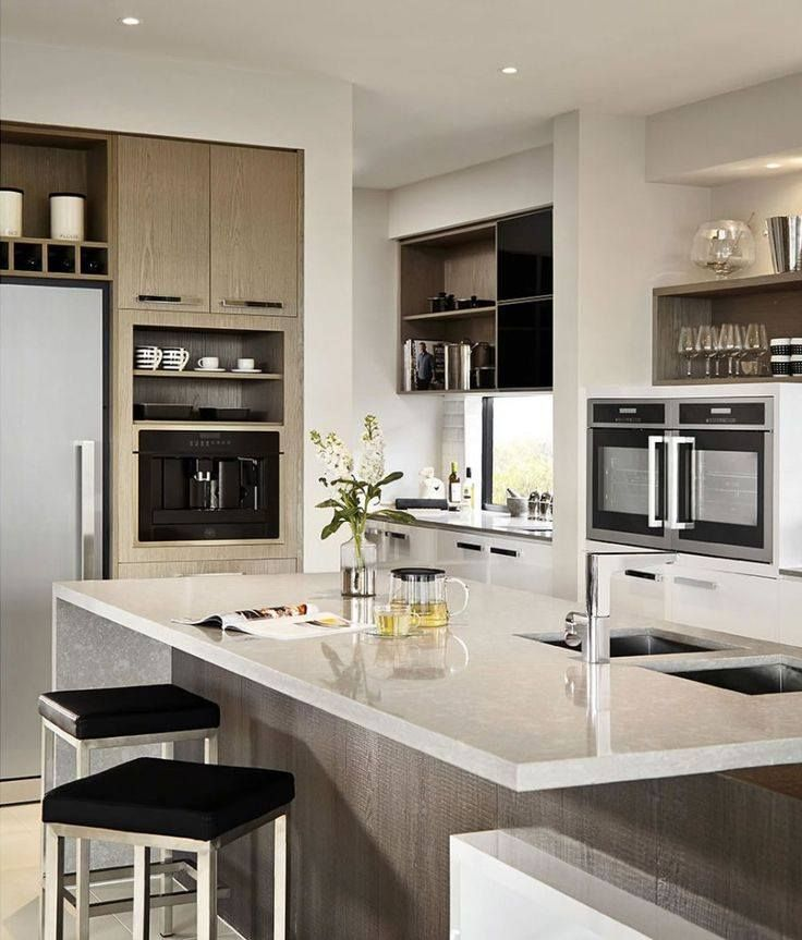 Ejemplos de cocinas elegantes modernas y minimalistas for Idea de cocina de color topo