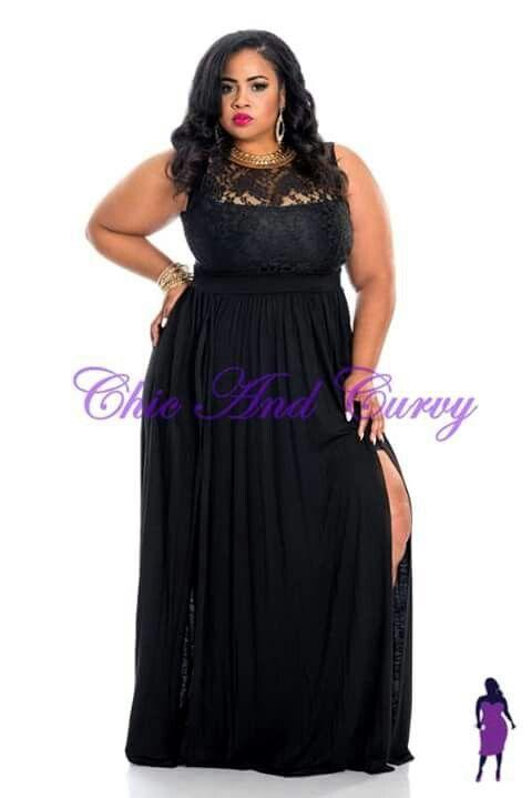 cc5e39083c5 Double laced Black Gown  ChicAndCurvy  Fashionista  Pretty  Elegant  Sexy