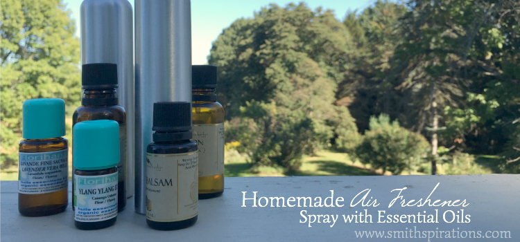 You can quickly and easily make your own homemade air freshener sprays with essential oils! Skip toxic artificial fragrances and enjoy these instead.