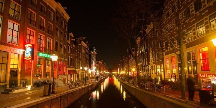 Red-Light District, Amsterdam, Holland, Netherlands