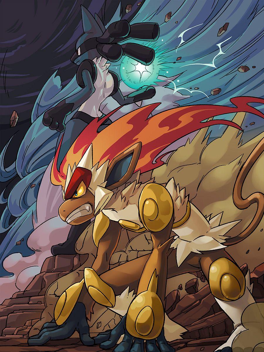 Aura Kingdom Cool Pokemon Wallpapers Pokemon Pictures Infernape Pokemon