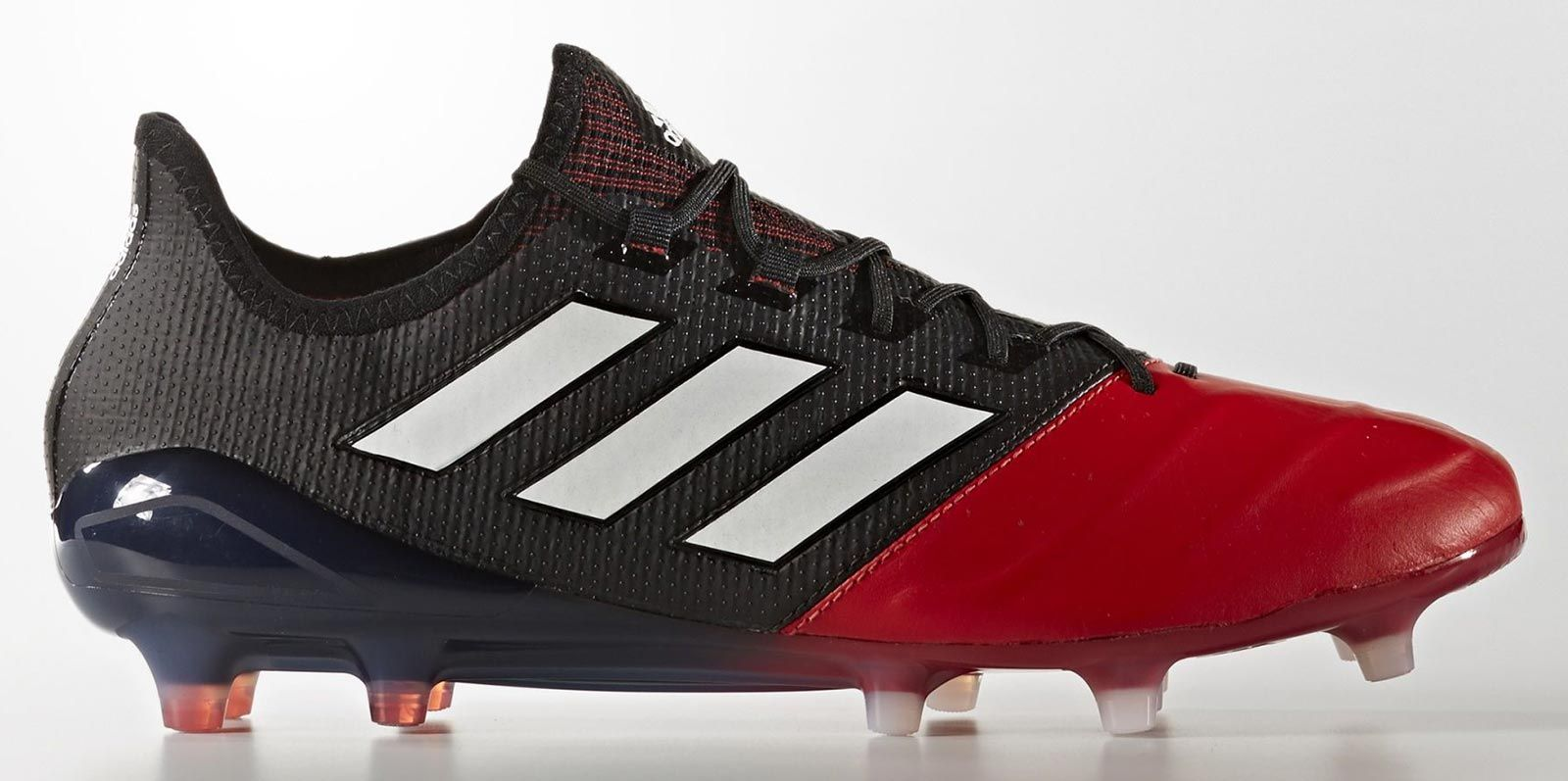 low price sale look out for exclusive shoes The black, red and white Adidas Ace Primeknit 17.1 Primeknit K ...