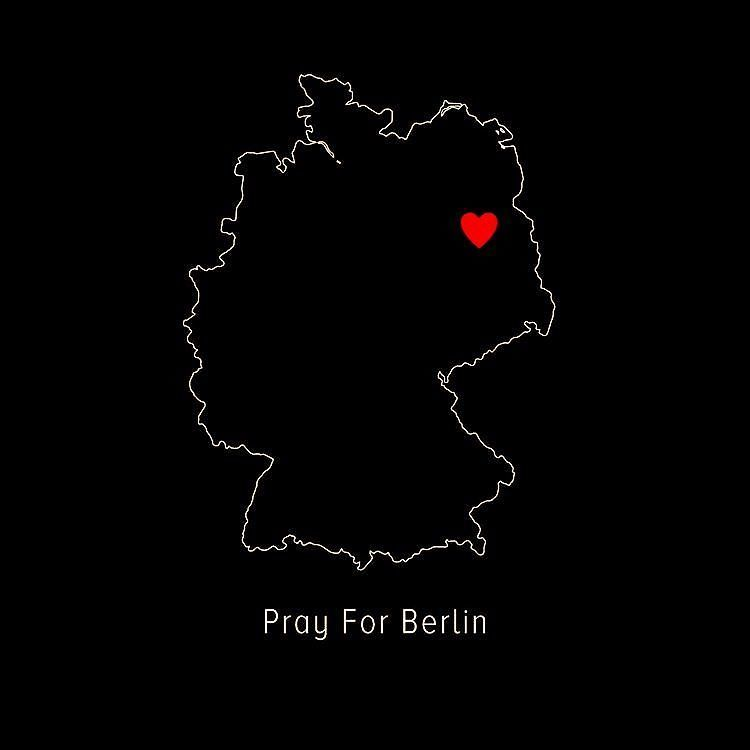 My heart stands for my German friends and all the victims of terrorisme who are gone or still suffer everyday #PrayforBerlin #PrayforPeace #SpreadLove #BringLoveBack