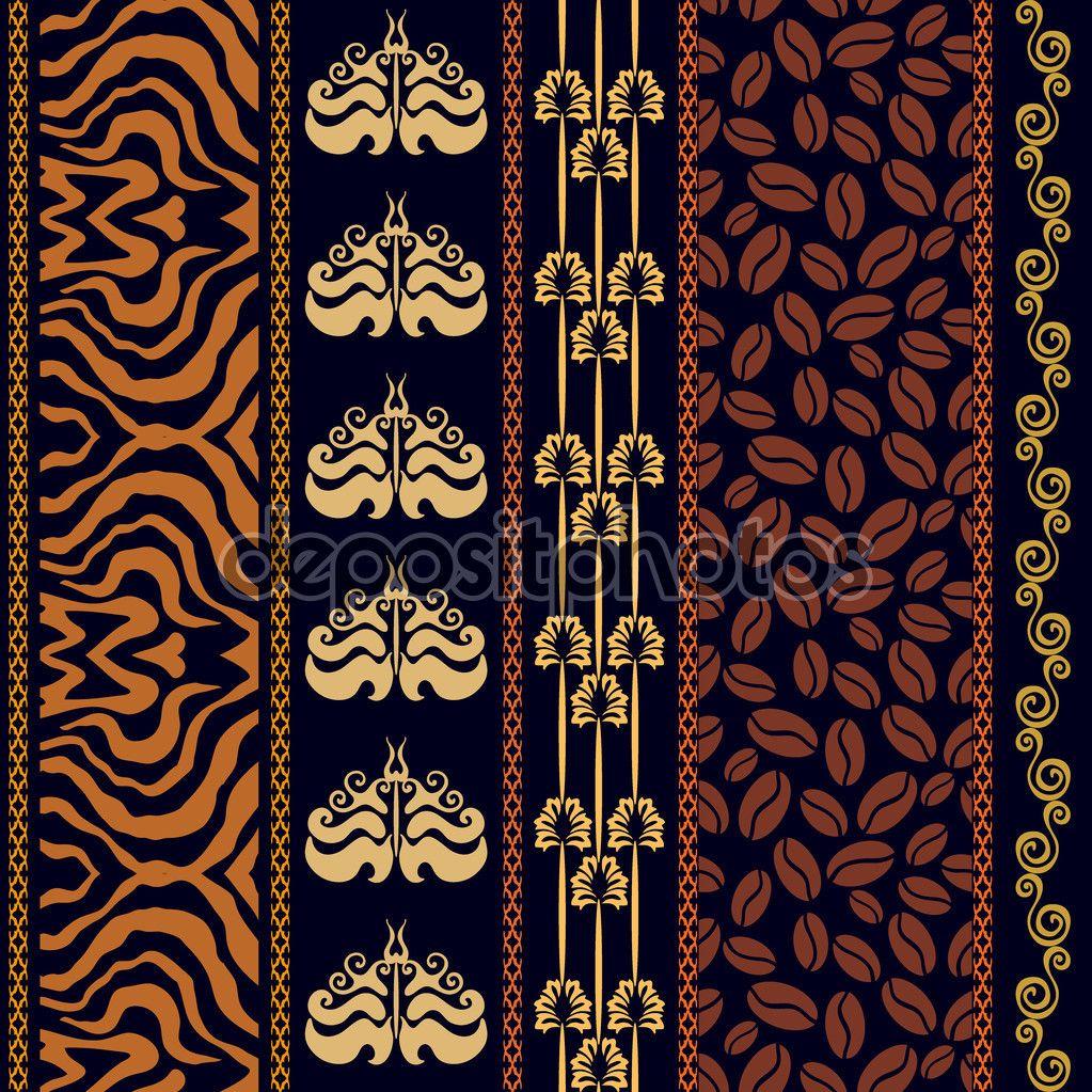art deco vintage seda papel pintado con motivos antiguos de fantasa estampado de cebra