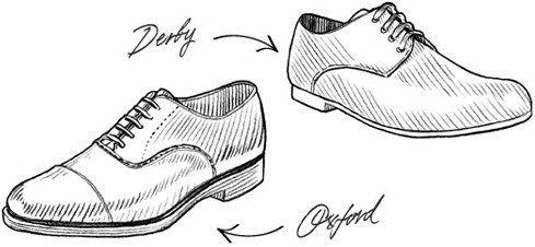 difference between derbies vs oxfords  oxford shoes men