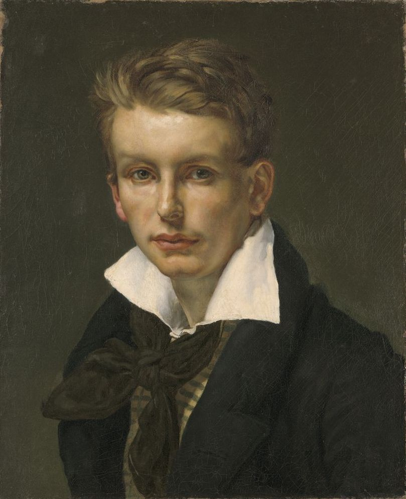 circle of theodore gericault portrait of a young man  circle of theodore gericault portrait of a young man 1820 25 harvard
