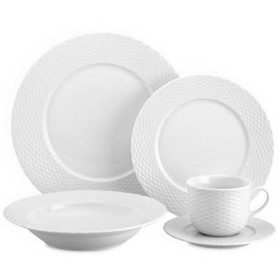 Williams-Sonoma\u0027s Pillivuyt Collection features porcelain pieces with sophisticated designs. Shop the Pillivuyt dinnerware collection at Williams-Sonoma.  sc 1 st  Pinterest & Pillivuyt Basketweave Porcelain Dinnerware Collection ...