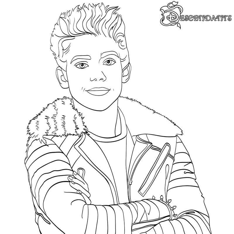 Descendant Coloring Pages Ideas With Superstar Casts Em 2020 Com