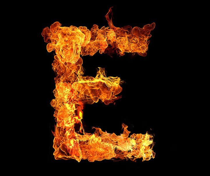 Inferno Typeface - A Flaming Typographic Experiment