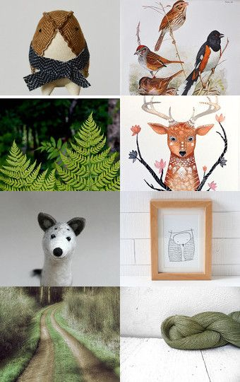 Woodland Christmas by Hanna on Etsy--Pinned with TreasuryPin.com