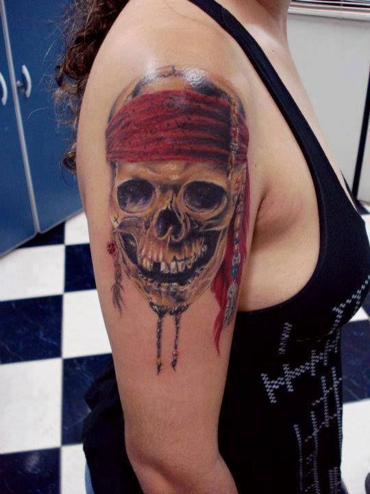 Pirates Of The Caribbean Skull Tattoos Google Search Tattoo