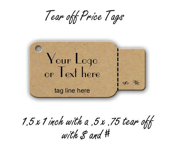 tags perforated price tags price tags jewelry tags product