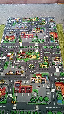 Car Road Play Mat Rug Play Mat Car Play Mats Childrens Play Mat