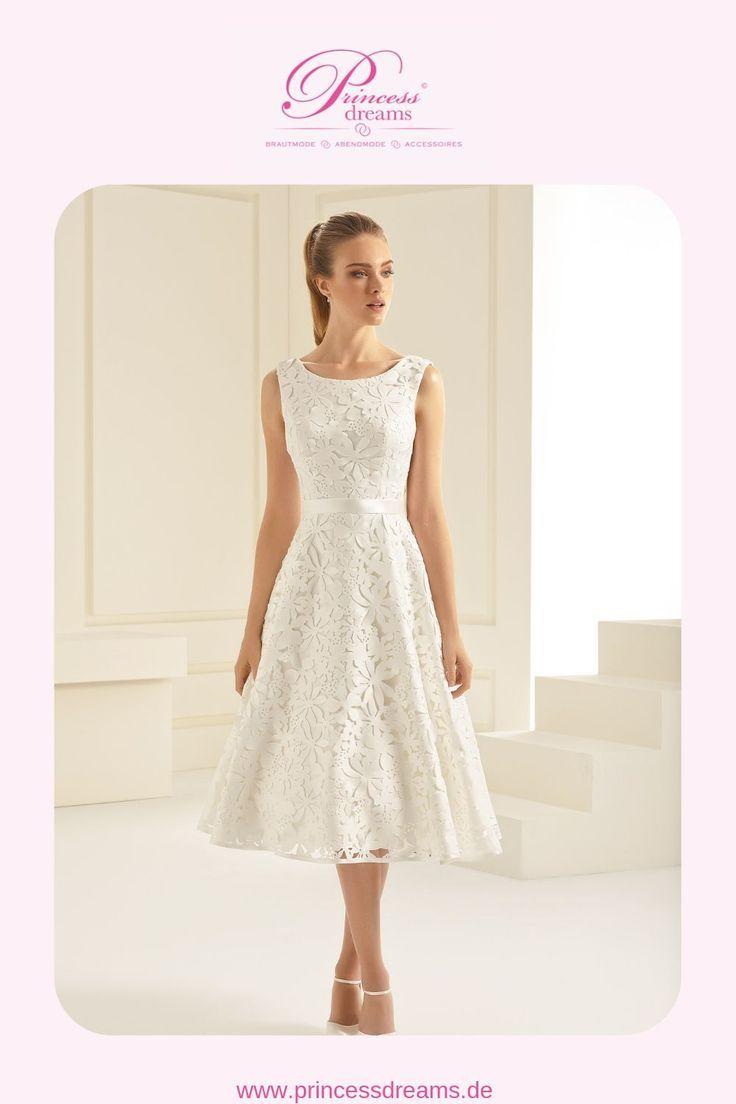 Hochzeitskleid Aperta kurz Bianco Evento  Ein außergewöhnliches