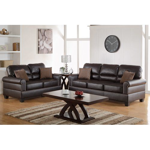 Boyster 2 Piece Faux Leather Living Room Set Cheap Living Room Sets Sofa And Loveseat Set Living Room Leather