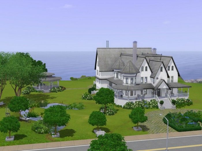 Greycliff Hotel by tsyokawe - Sims 3 Downloads CC Caboodle Check - new sims 3 blueprint mode