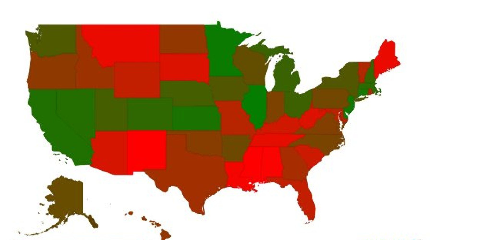 GOP States Are The Most Dependent On Government | Car ...