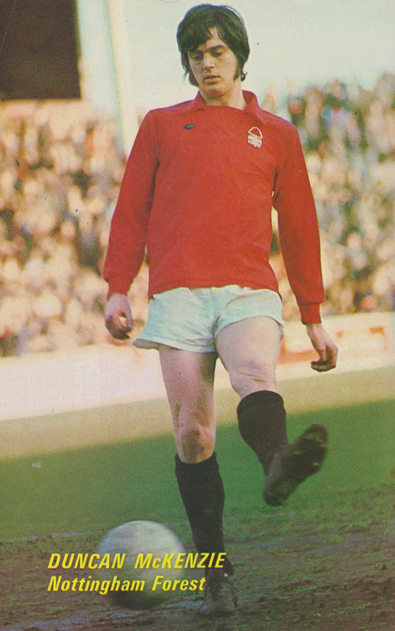 Duncan McKenzie Nottingham Forest 1973 | Nottingham forest, Football  shirts, Retro football