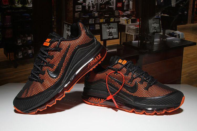 6d4cc1e954467 Men's Nike Air Max 2018 Elite KPU TPU Shoes Black/Orange | kicks ...