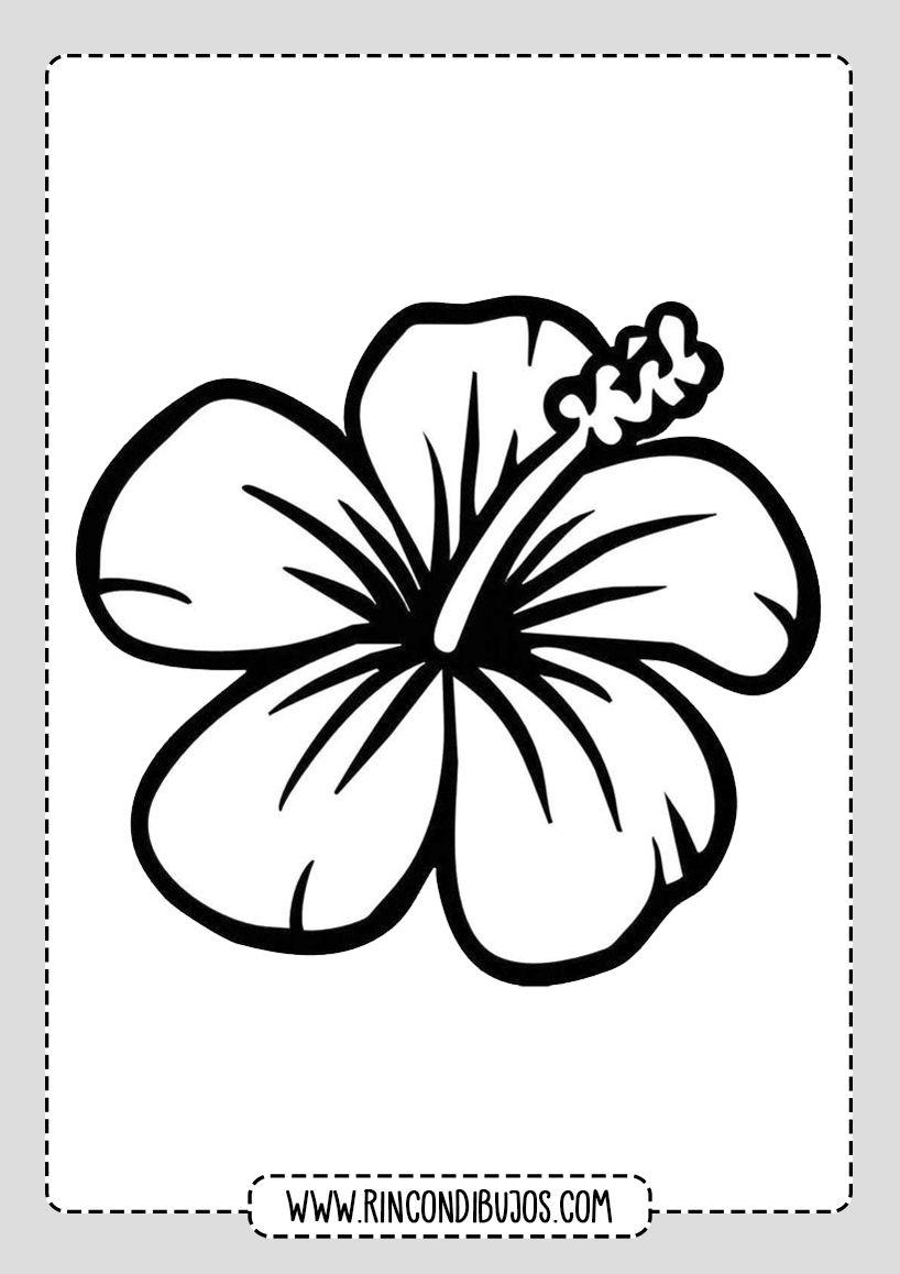 Colorear Dibujos De Flores Bonitas Rincon Dibujos En 2020 Dibujos De Flores Flores Faciles De Dibujar Dibujos
