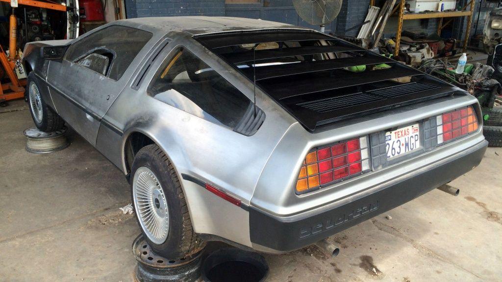 29k Mile Automatic: 1981 DeLorean DMC-12 - http://barnfinds.com/29k-mile-automatic-1981-delorean-dmc-12/