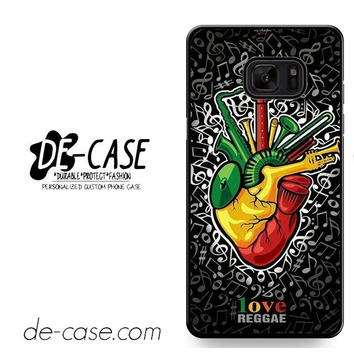 Bob Marley Face I Love Rege DEAL-2000 Samsung Phonecase Cover For Samsung Galaxy Note 7