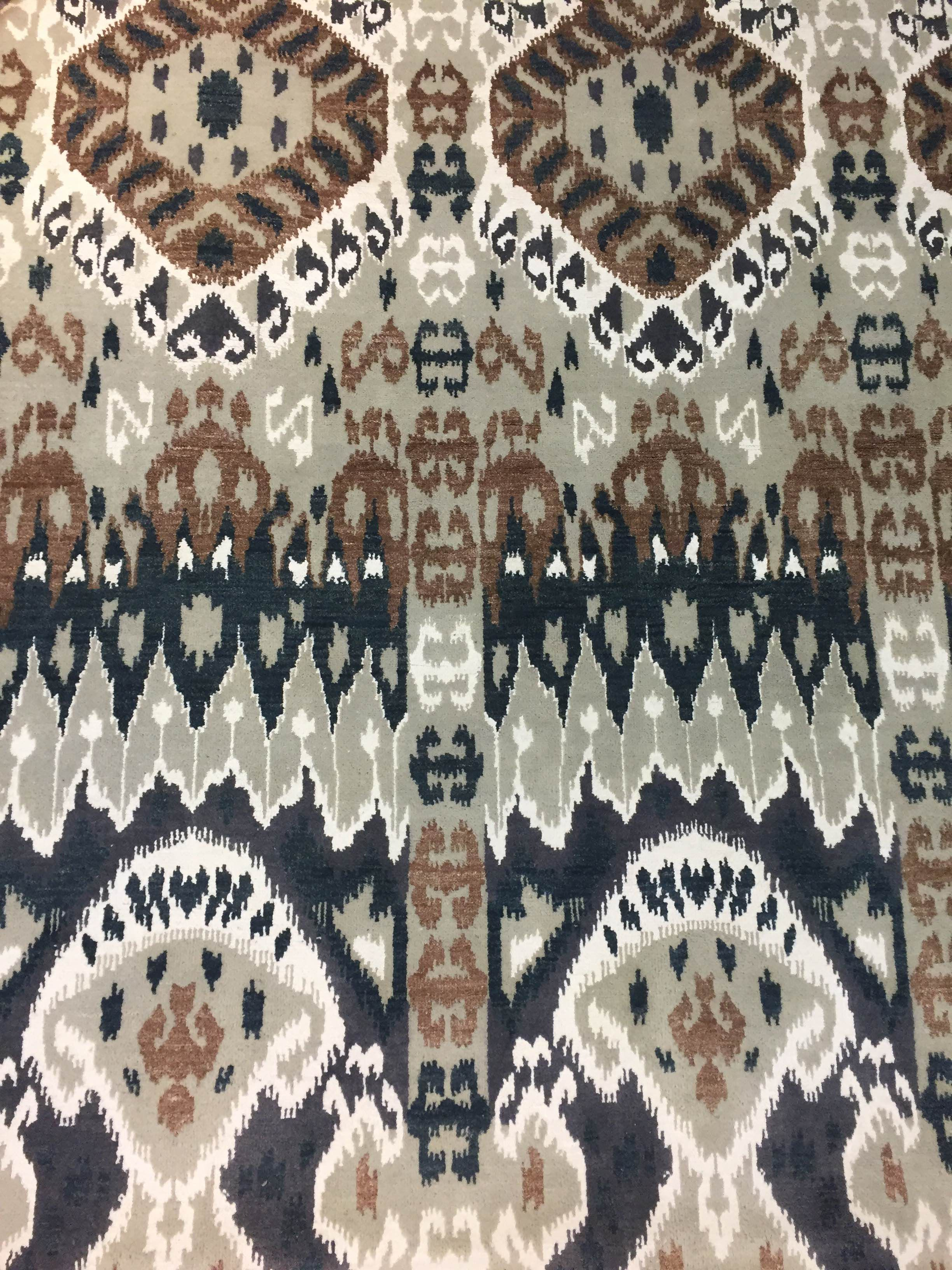 Ikat Rug Available At Stickley Audi Co White Plains