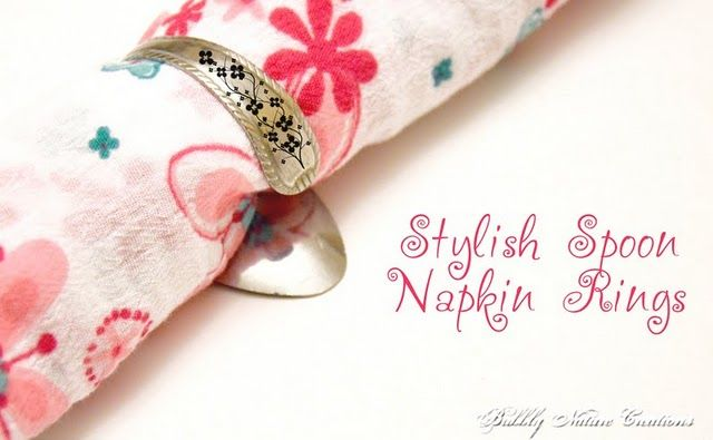 Spoon Napkin Rings :)