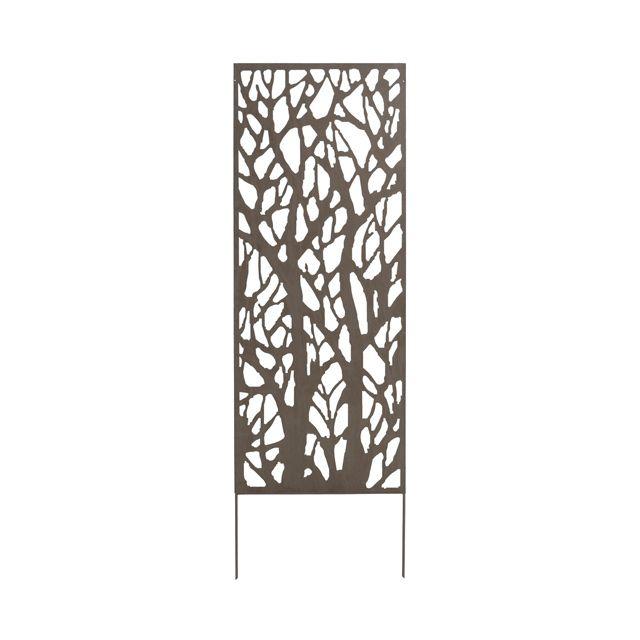Treillis Deco Arbre L 0 6 X H 1 5 M Castorama Panneaux Decoratifs Panneau Treillis Panneaux En Metal