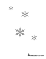 image about Printable Christmas Stencils called Absolutely free Printable Xmas Stencils ALL Pertaining to STENCIL Cost-free