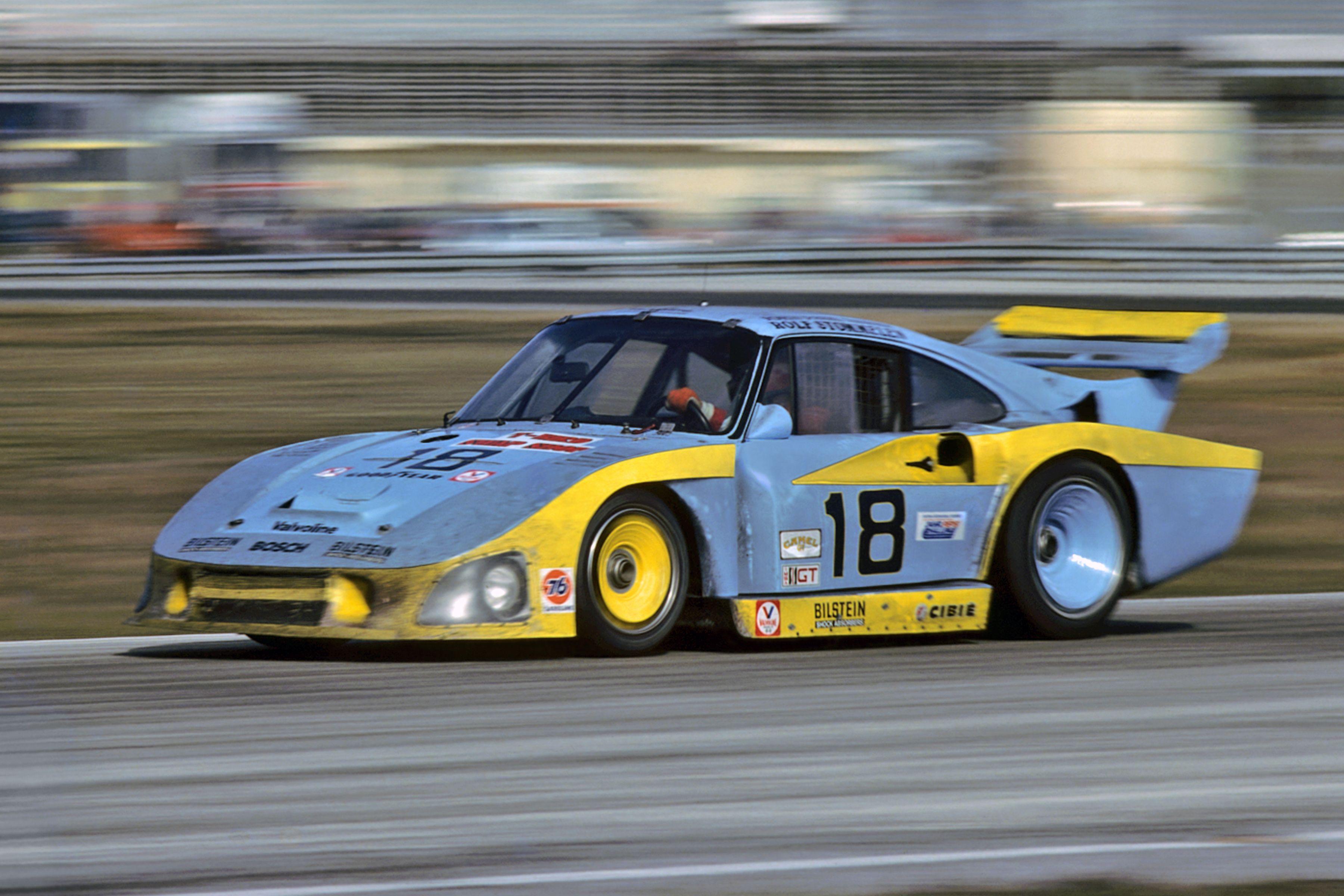 1982 No 18 Porsche 935 Jlp 3 John Paul Sr John Paul Jr Rolf