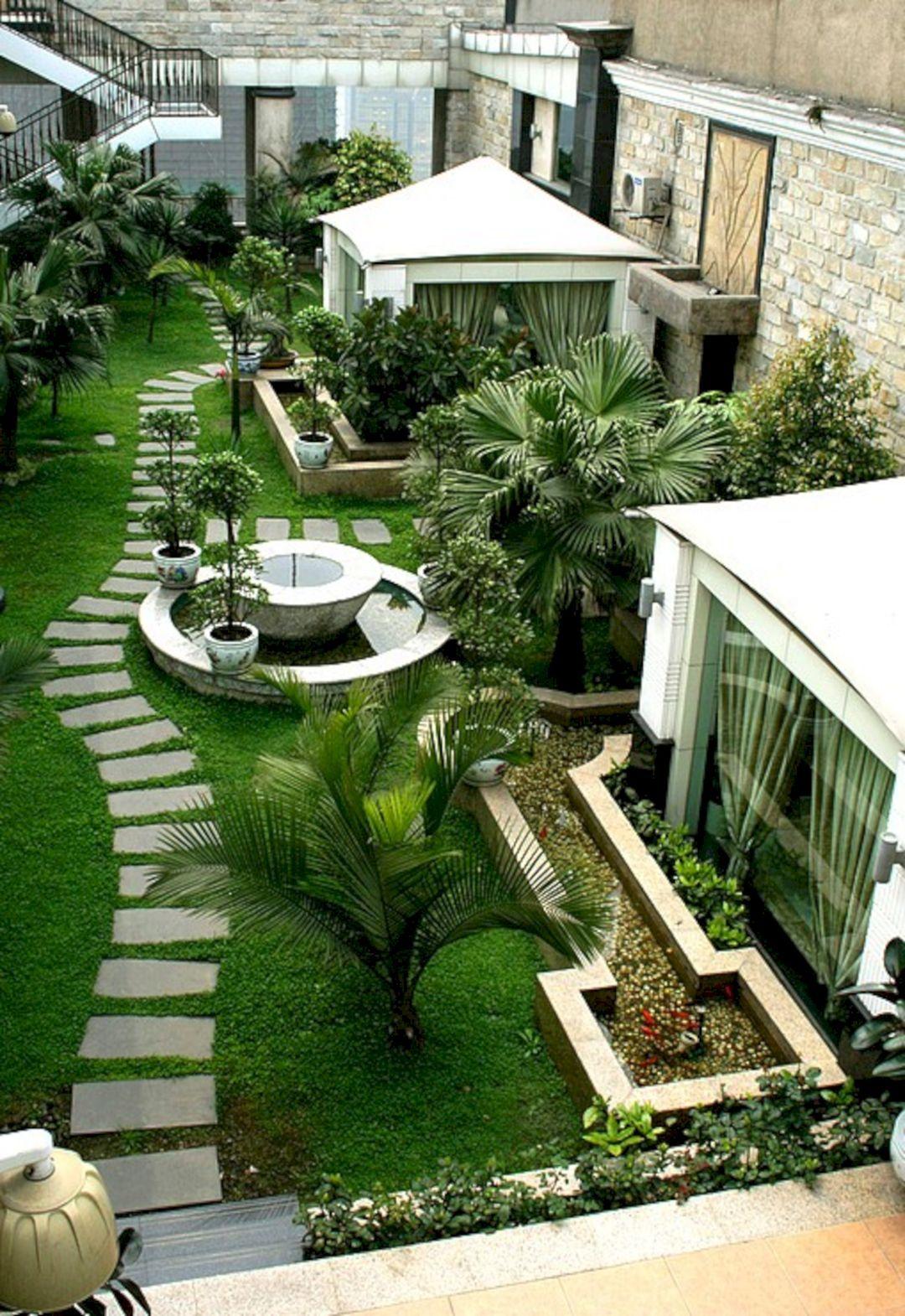 Outstanding Amazing 10 Rooftop Garden Ideas For Alternative Gardening On A Budget Https Decoredo Urban Garden Design Roof Garden Design Pathway Landscaping