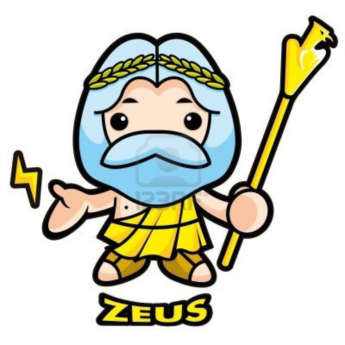 zeus cartoon info pinterest cartoon and drawings rh pinterest com zeus face clipart zeus greek god clipart