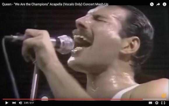 【衝撃動画】クイーンの『We Are the Champions』をアカペラで聴くとヤバいことになる   ロケットニュース24