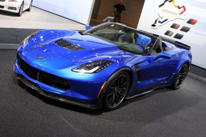 2016 Corvette Zr1 Exterior Design Blue Color Jpg