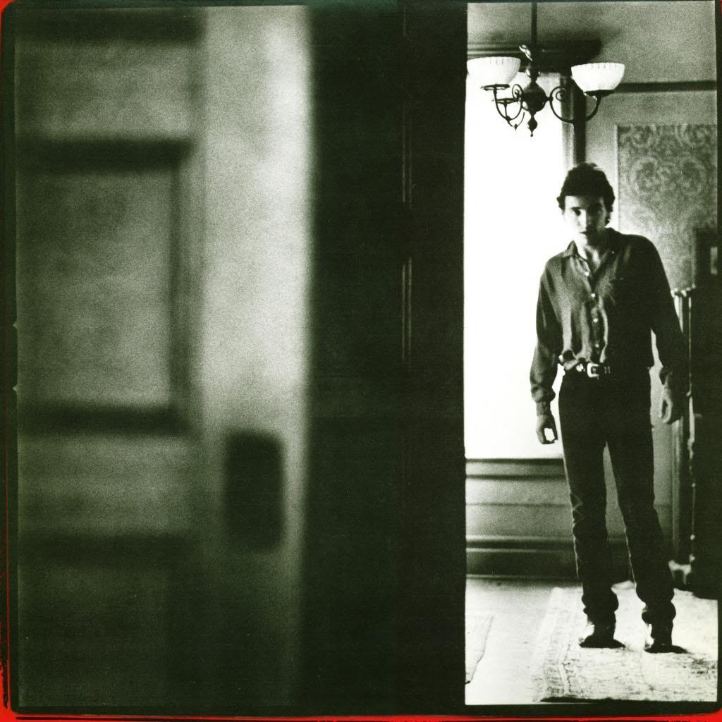 """Bruce on the """"Nebraska album"""" sleeve. Bruce springsteen"""